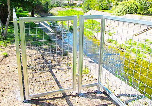 Austin Bull Panel Fencing Installed