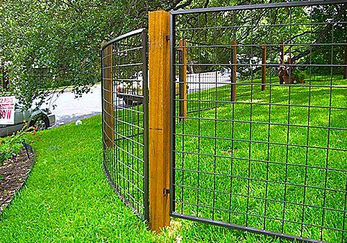 Austin TX Bull Panel Fence Contractors