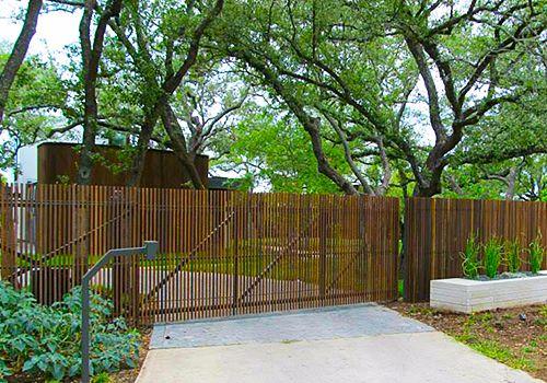 Austin Driveway Gate Installation