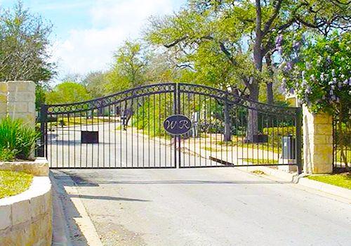 Austin Entry Gate Installed