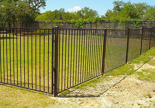 Austin Ornamental Iron Fencing Custom Installation