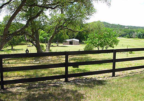 Austin Ranch Fencing Installation