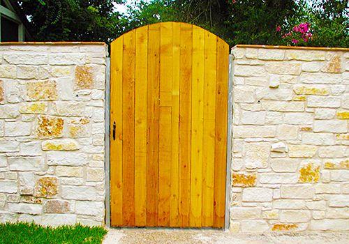 Austin Walk Gates Installed